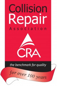 CRA 100 years - red and black logo