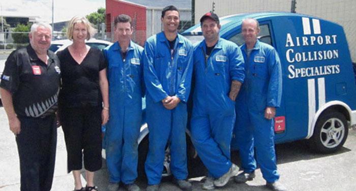 Airport Collision Specialist Repair, Auckland Airport